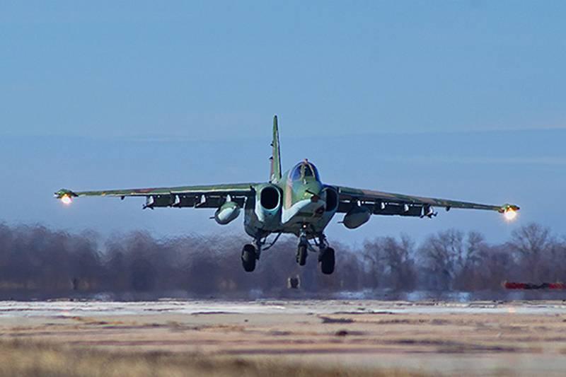 В Ставрополье обнаружили тела лётчиков экипажа разбившегося Су-25УБ
