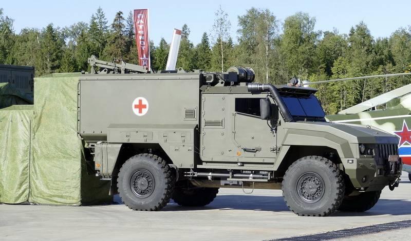 """I primi veicoli corazzati sanitari """"Lens"""" andranno alle truppe entro la fine dell'anno"""