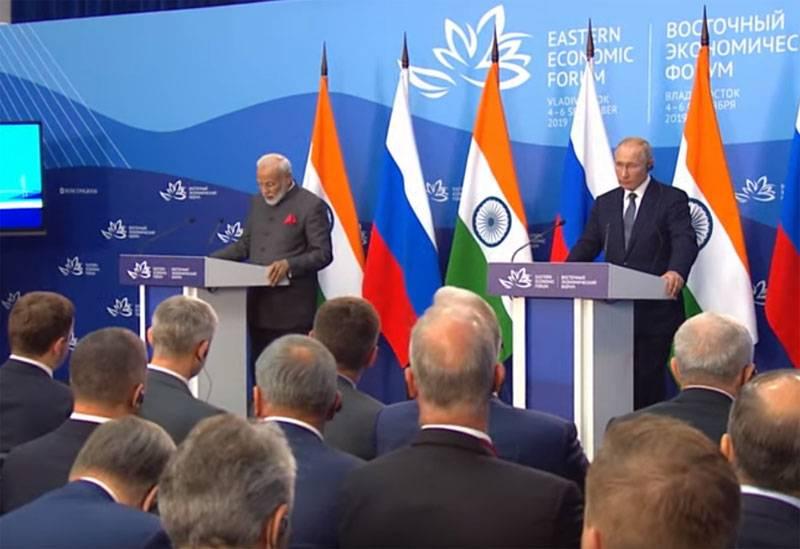 РФ построит в Индии 20 энергоблоков АЭС и уже продаёт оружие на 14,5 млрд долларов