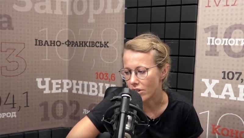 """Собчак прибыла в Киев и нарвалась на вопрос """"Чей Крым?"""""""