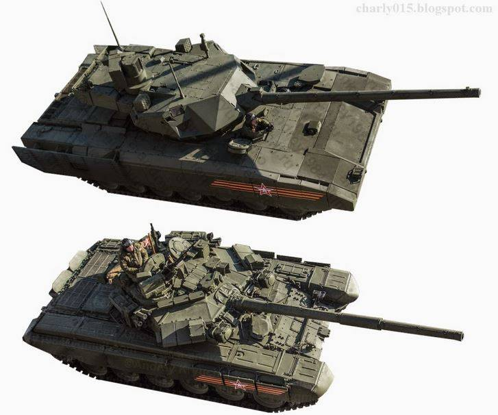 "do I Have to set on the ""Armata"" tower T-90M?"