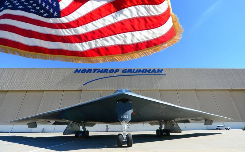 media: New bomber USA In-21 will be able to fight with the fighters
