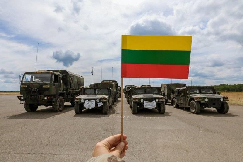 Литва запросила у НАТО дополнительную защиту от нападения России