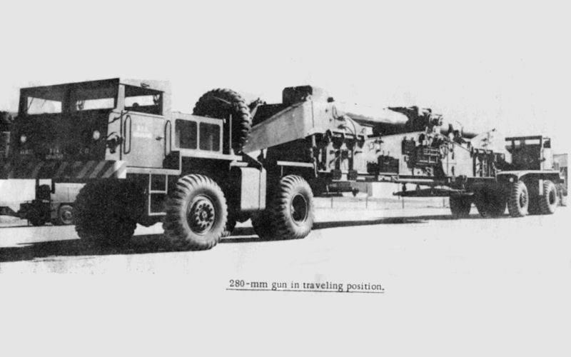 M65 परमाणु एनी। पहला यू.एस. परमाणु गन