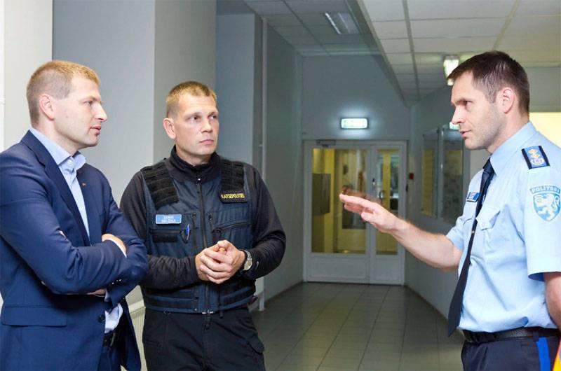 """В МВД Эстонии создают отряды для противостояния """"зелёным человечкам"""""""