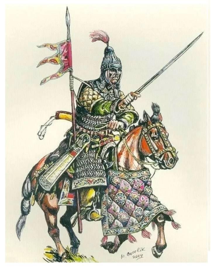 Slavs and Avars in the VI century