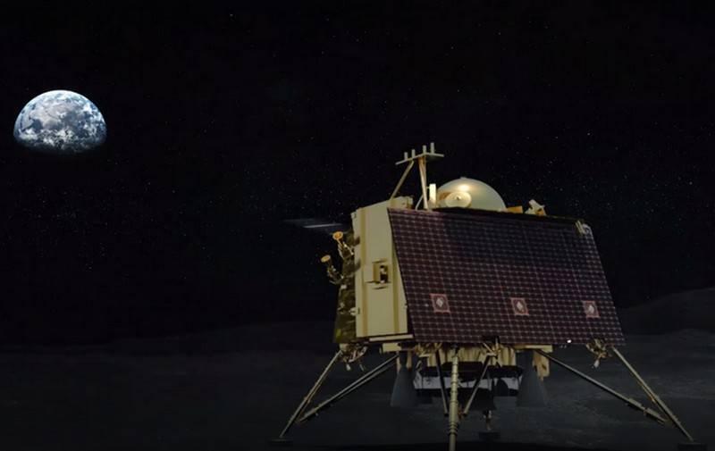 """Вторая индийская лунная миссия """"Чандраян-2"""" закончилась неудачей"""