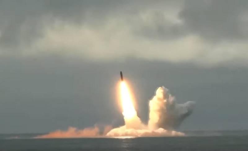 A revista americana apreciou o ICBM russo R-30 Bulava