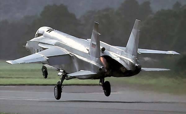 Як-141 в основата на нов самолет с вертикално излитане