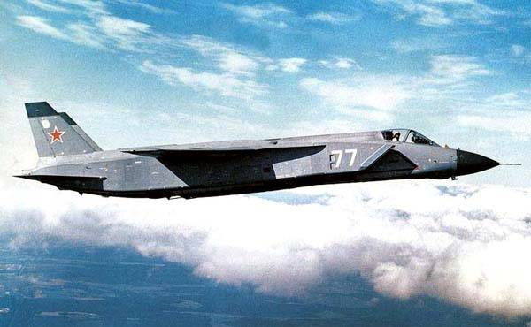 Yak-141 as the basis for the new aircraft vertical takeoff