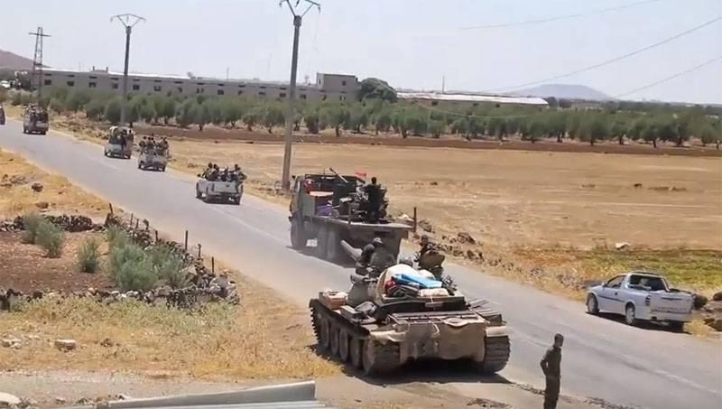 Заявлено о том, что сирийская армия покинет Хан-Шейхун и север Хамы