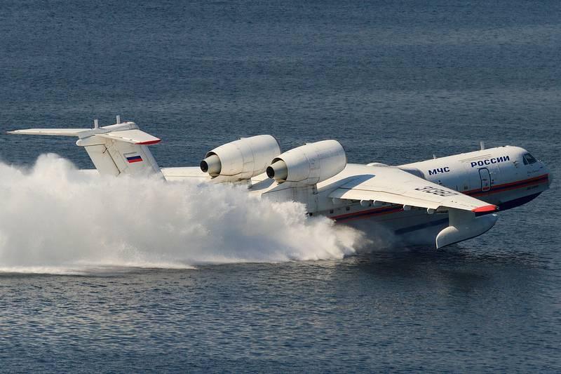 Turquia se interessa por aviões anfíbios russos Be-200