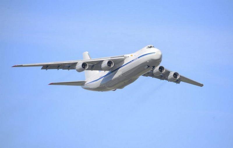 O segundo do ano An-124-100 Ruslan foi restaurado em Ulyanovsk