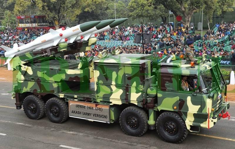 """India comprará seis divisiones de sistemas de defensa aérea nacionales """"Akash"""""""