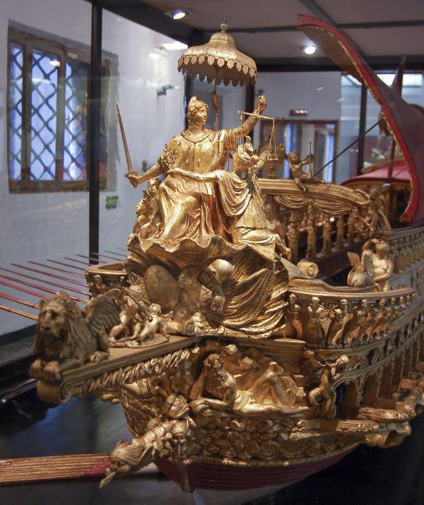 naval historical Museum of Venice. Excursion to the
