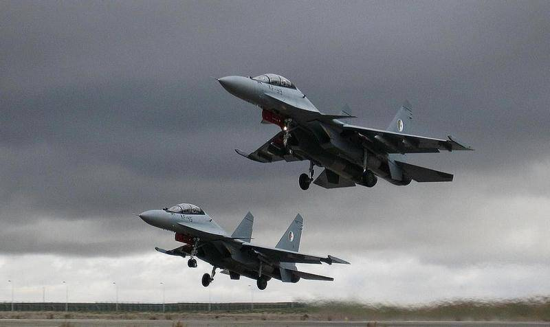 Algeria bought a large batch of Russian fighter jets