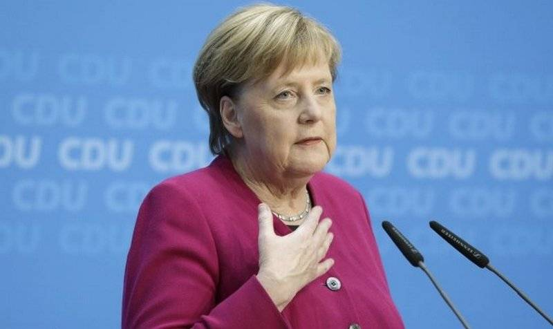 Merkel urged Europe not to rely on US military defense