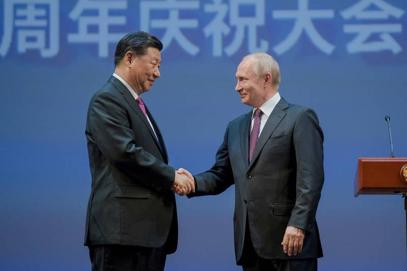 Washington advised a clash between Moscow and Beijing