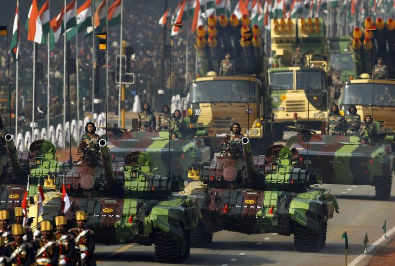India increases military spending for the next five years