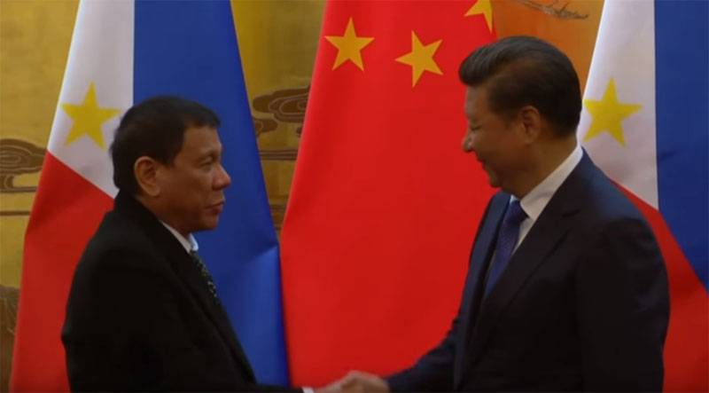 Acordos do Presidente das Filipinas com a China provocam indignação no Ocidente
