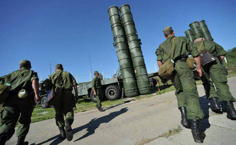 the defense Ministry received a set of regimental s-400