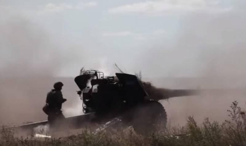Зрелищное видео артиллерийских стрельб 20-й армии ЗВО появилось в Сети