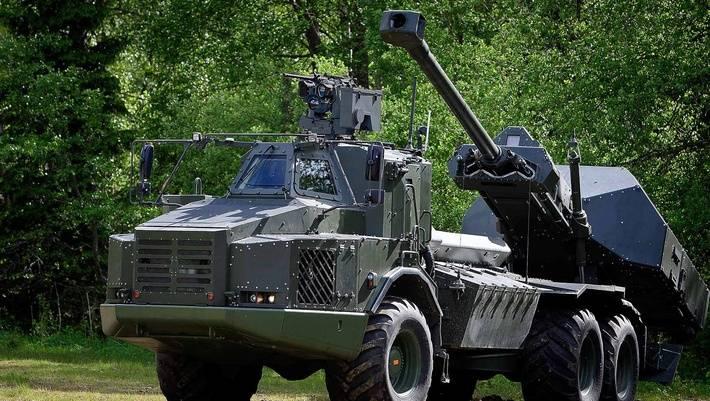 Modernisierung von Selbstfahrlafetten Archer. Modularer Bausatz für verschiedene Fahrgestelle