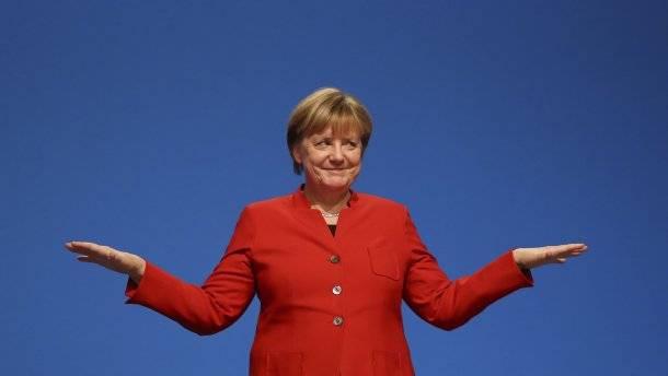 Die Zukunft der Europäischen Union. Angela Merkel ist besorgt