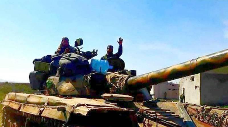 यह सूचना दी है कि SAA लगभग तुर्की टुकड़ी पर मारा गया था