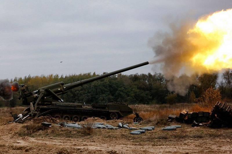 """Coastal troops are armed with modernized SAU 2S7 """"Peony"""""""