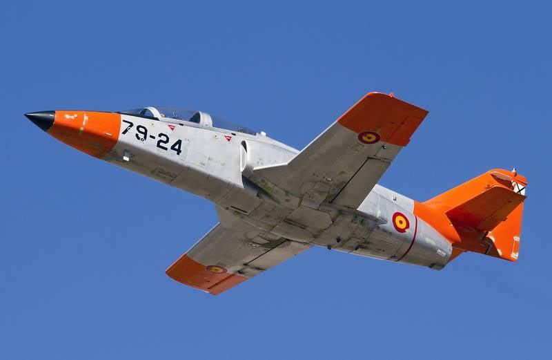 스페인 공군, 8 월 말 2019 이후 두 번째 훈련기 손실