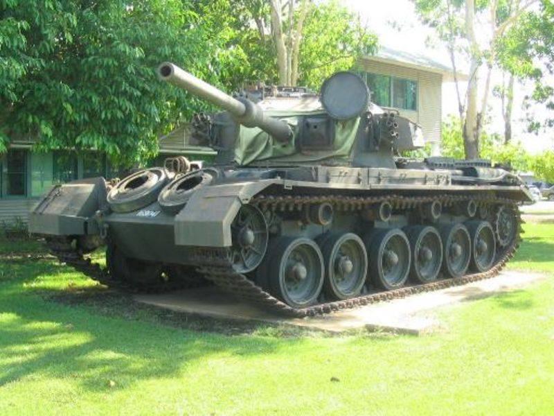 Avustralyalı tank Centurion'un tarihi: nükleer testten kurtuldu ve Vietnam'da savaştı
