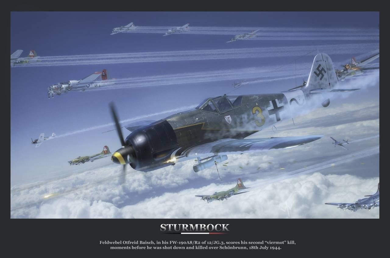 Обои german airplane, ww2, painting.aviation, Fw 190 d-9, bomber hunter, war. Авиация foto 14