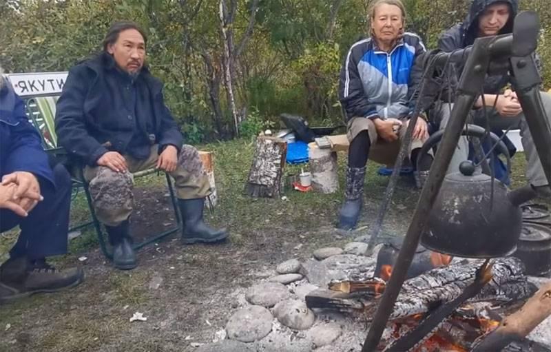 """Задержан """"шаман"""" шедший в Москву """"изгонять Путина"""""""