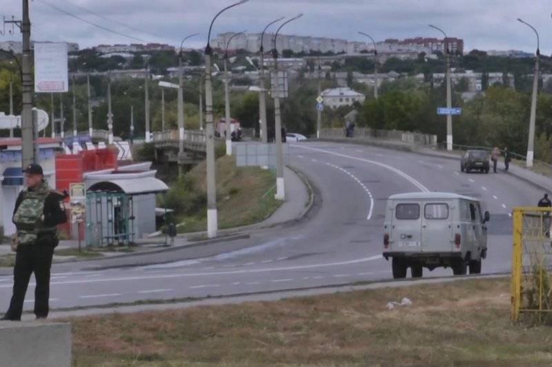 В Луганске совершена попытка подрыва моста
