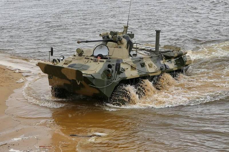 Un gros lot de nouveaux BTR-82A est entré en service chez les Marines au Kamchatka