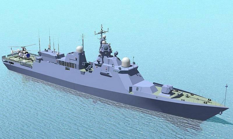 Die Ukraine nimmt den Bau von 58250-Projektkorvetten wieder auf