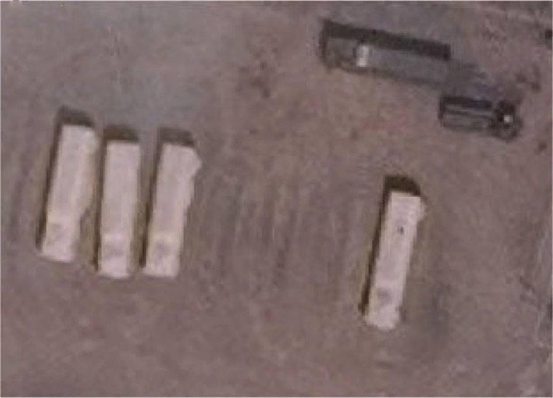 Um instantâneo apareceu com lançadores estendidos Iskander-M