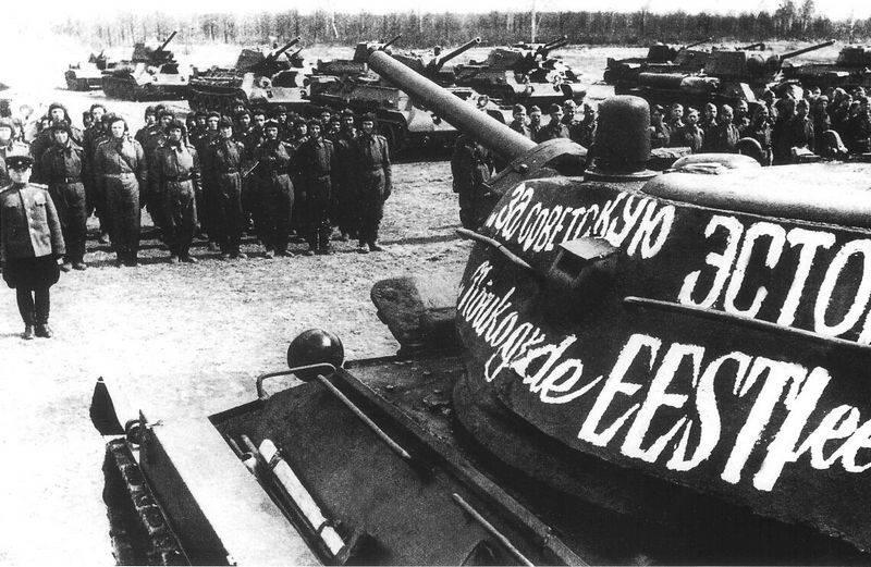Das Verteidigungsministerium hat Dokumente zur Befreiung von Tallinn freigegeben