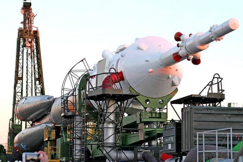 "At Baikonur gathered last booster ""Soyuz-FG"""