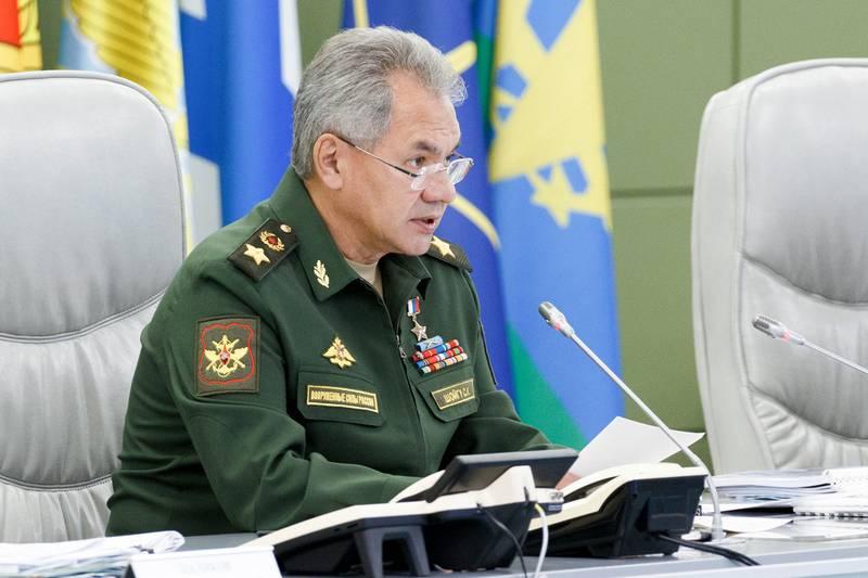 Shoigu: सीरिया के ऑपरेशन ने हथियारों के आधुनिकीकरण की अनुमति दी