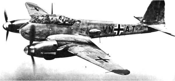 Aviões de combate. Messerschmitts Me-210 e Me-410. Além da compreensão