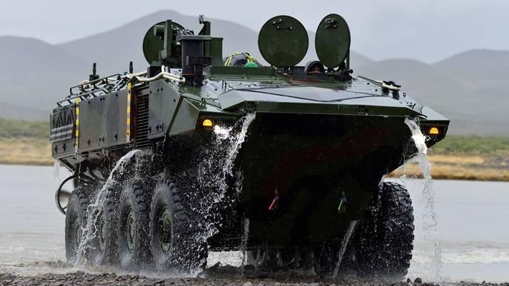 बख्तरबंद वाहन ACV: टैंक रोधी मिसाइलों से लैस