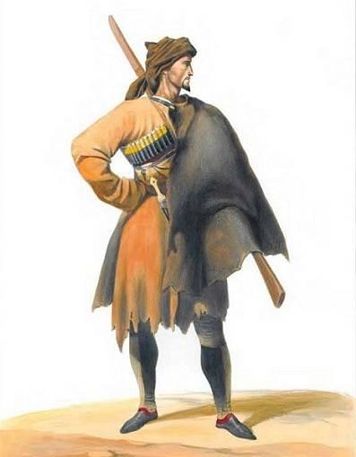 19 वीं सदी की पहली छमाही की माउंटेन पुलिस