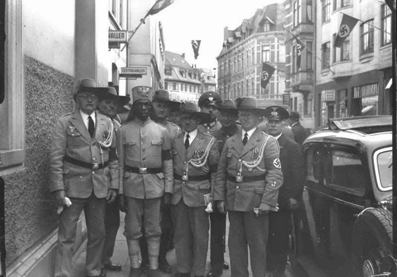 Иностранцы на службе в вермахте и войсках СС