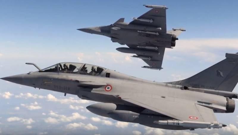 Índia concordou em comprar um segundo lote de caças Rafal