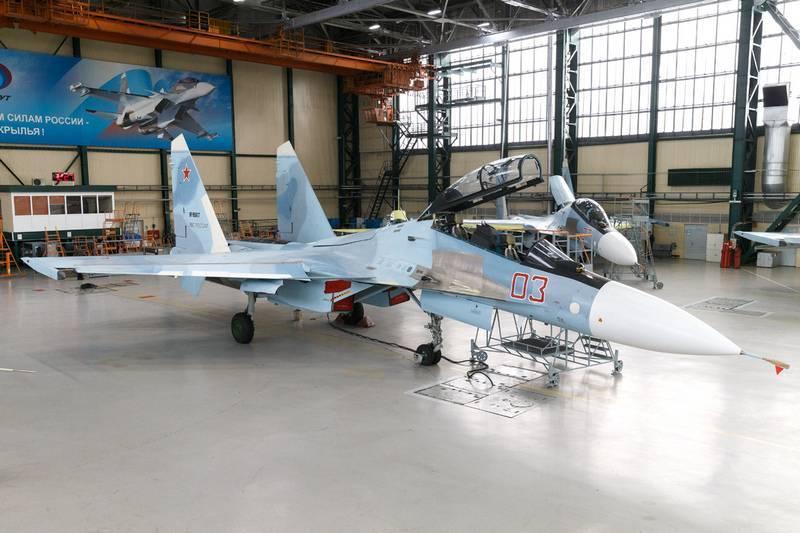 Модернизированный Су-30СМ получил систему связи последнего поколения