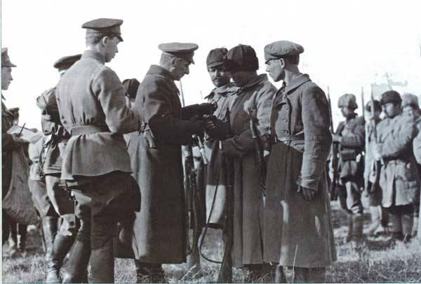 Kolchak军队在Tobol上取得的胜利