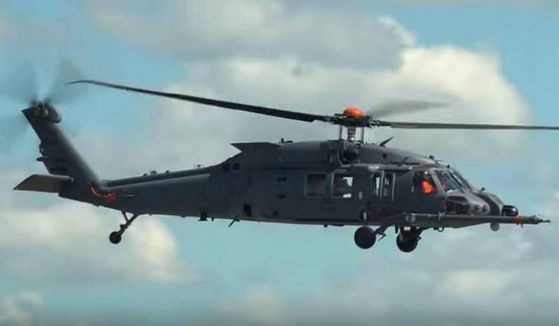 Der neueste amerikanische Hubschrauber HH-60W für MTR ging in Serie