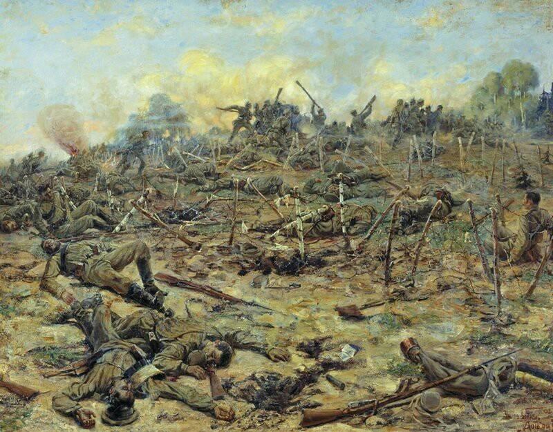 हुवाचेव लड़ाई, 1915 की मई-जून